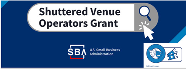 Save Our Stages - Shuttered Venue Operators Grant FAQ Now Available