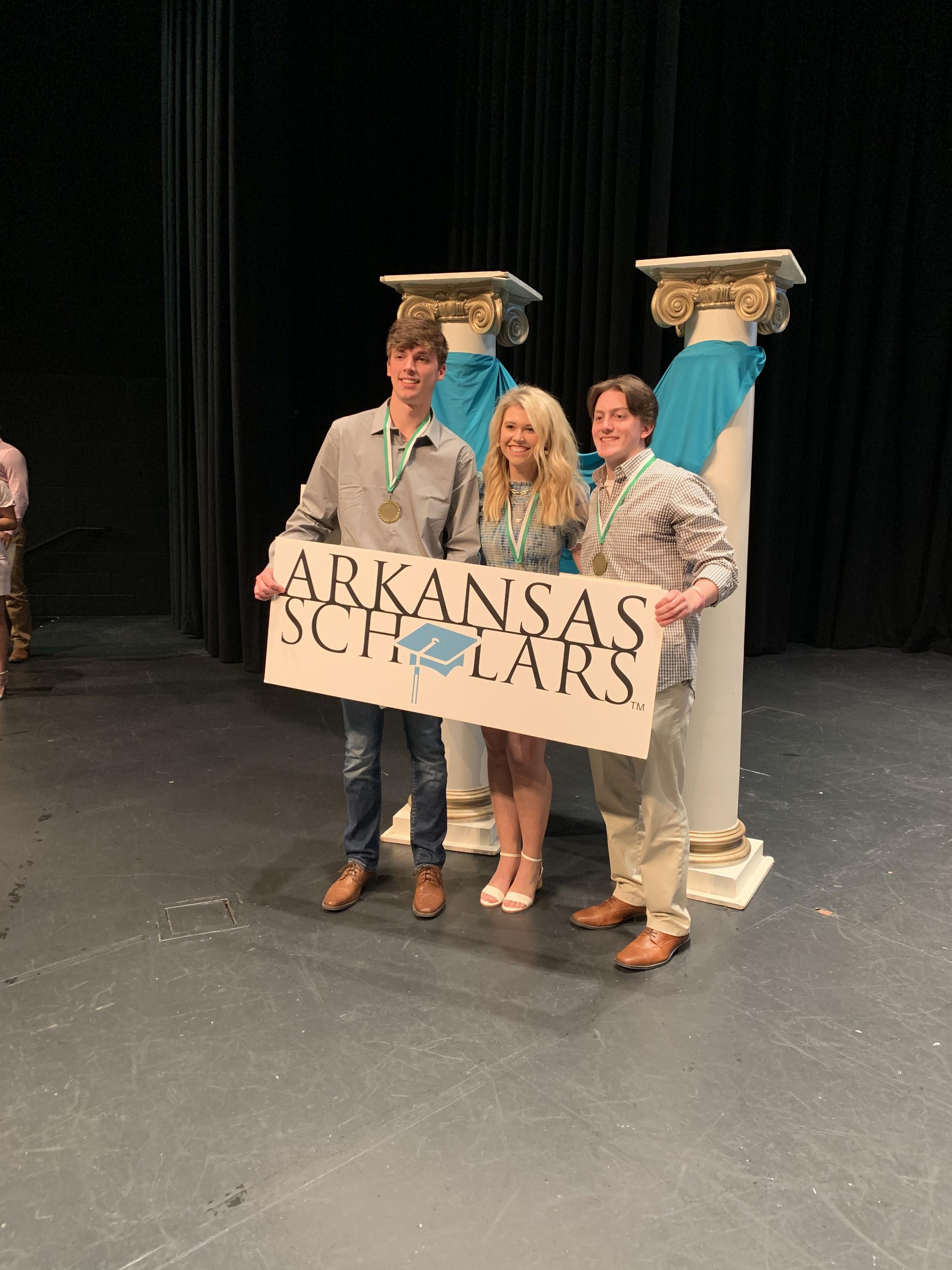 Image for VBHS Arkansas Scholars Honored