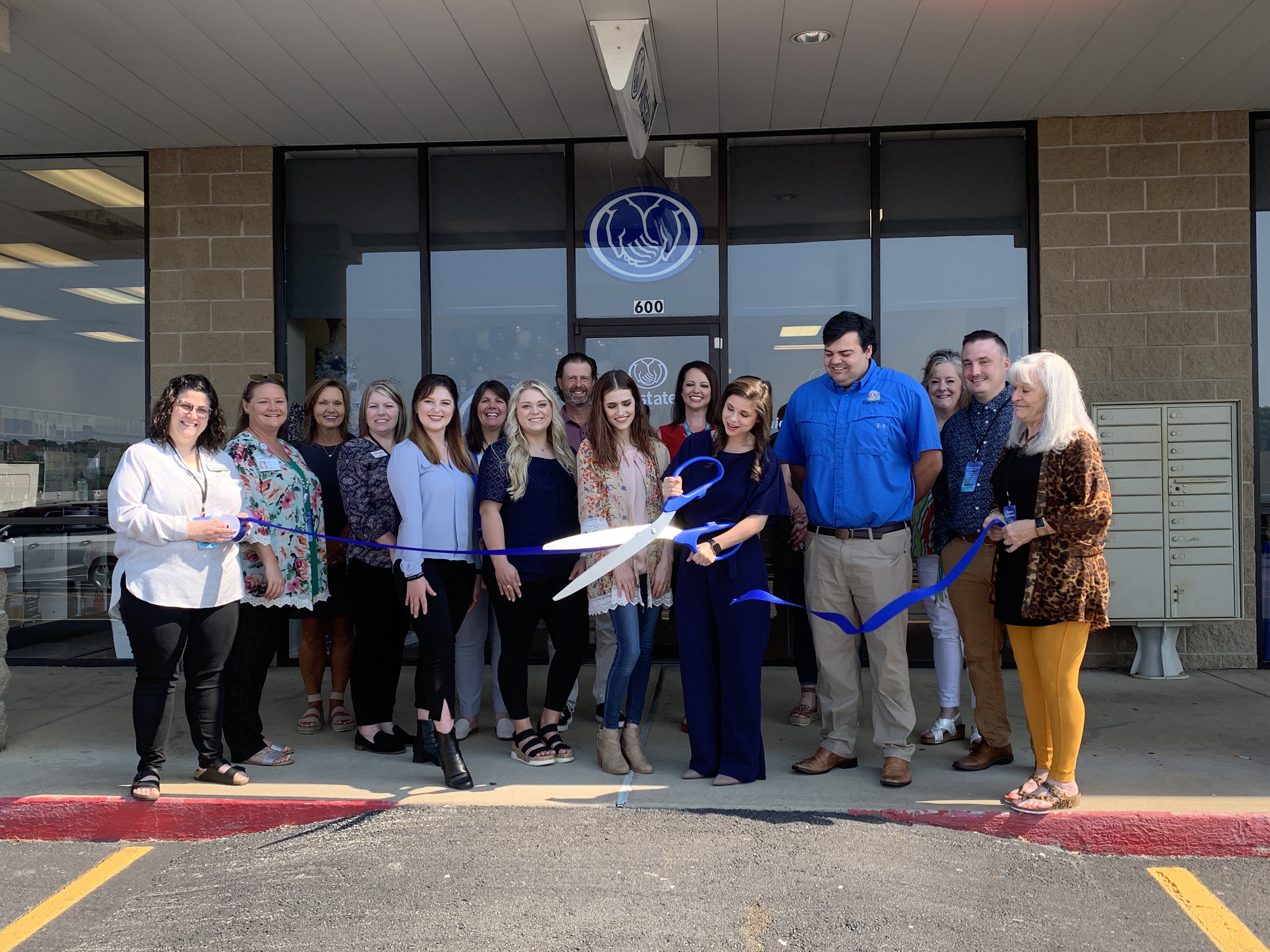 Image for Ribbon Cutting Held for Allstate Danielle Emery Agency