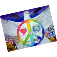 Lions International Peace Poster Contest, sponsored by the Center For Art & Education
