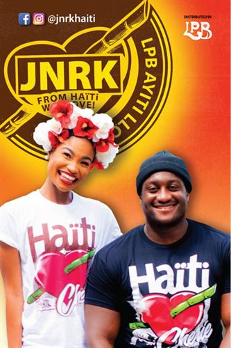 JNRK HAITI CHERIE TEES $30 Click on HIGHLIGHT to purchase now! IN WHITE ON SALE %25OFF