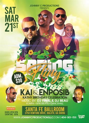 KAI & Enposib Live in Atlanta on 21 March 2020