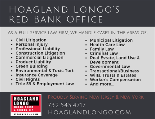 The types of cases that Hoagland Longo can handle.