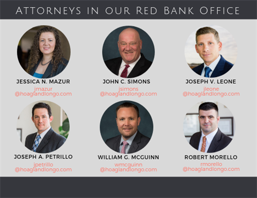 Attorneys in our Red Bank office