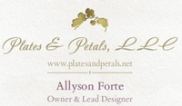 Plates and Petals, Event Designs by Allyson Forte