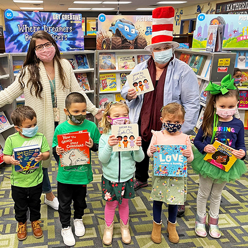 UWMOC donated new books with themes on diversity to children in Barnegat schools