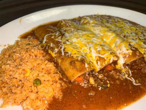 Enchilada Lunch