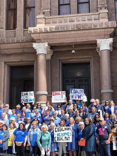 TDWJC members participated in the 2019 Blue Ribbon Lobby Day in Austin.