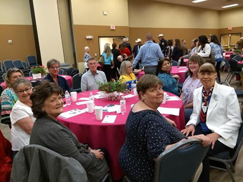 TDWJC at the 2019 Johnson County Family Crisis Center Awareness Luncheon