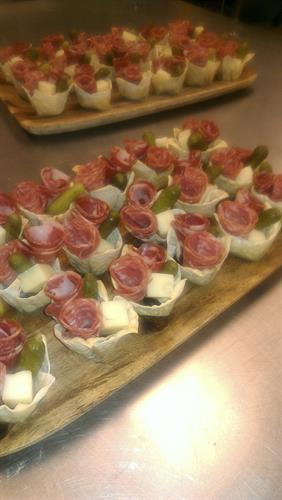 Charcuterie Cups