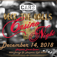 Deck the Halls Casino Night