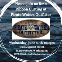 Ribbon Cutting for Pirate Waters Outfitter