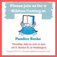 Ribbon Cutting  Pamlico Books