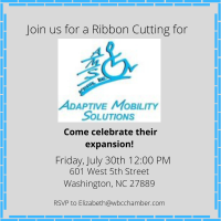 Ribbon Cutting Adaptive Mobility Solutions