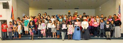 Barcelona Middle School, Glendale, AZ - Buffalo Soldiers of the Arizona Territory Presentation