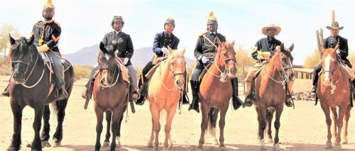 Buffalo Soldiers of the Arizona Territory, Mesa, AZ