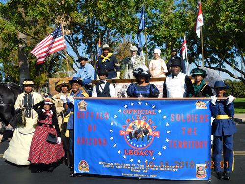 East Valley Veterans Parade, Mesa, AZ.