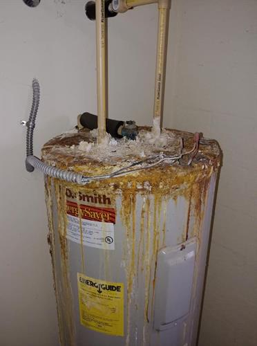 Ignoring the problem with a water heater will not make it go away!