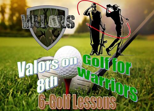Partner with Golf for Warriors to teach Veterans to golf or better their skill