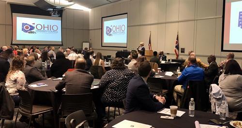 Moderating Ohio Diversity Consortium Veteran Summit