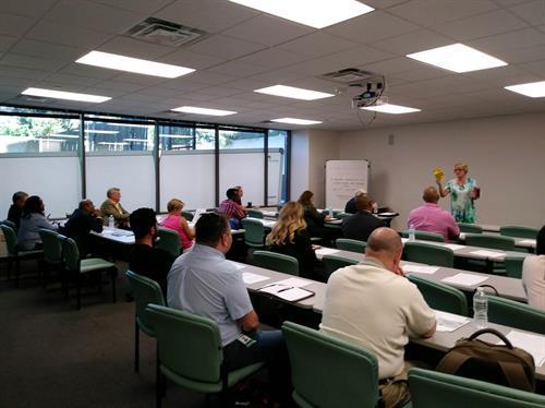 Ohio Small Business Development Center:  Leadership presentation