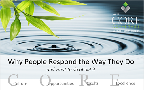 Why People Respond the Way They Do and What to Do About It training