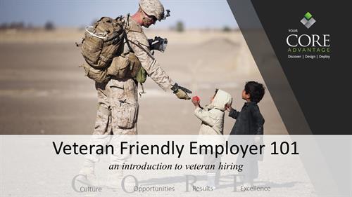 Veteran Friendly Employer 101 - training