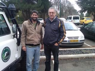 Israeli Business Partner & Client on Golan Heights