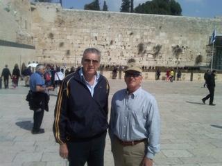 With Israeli Business Partner in Jerusalem