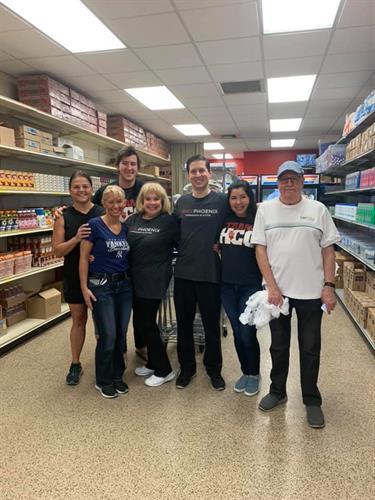 Volunteer Effort at Harvest Compassion Center & Mitchell Swaback Charities