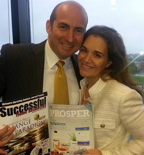 Bill and Nicole Constain Magazine pic