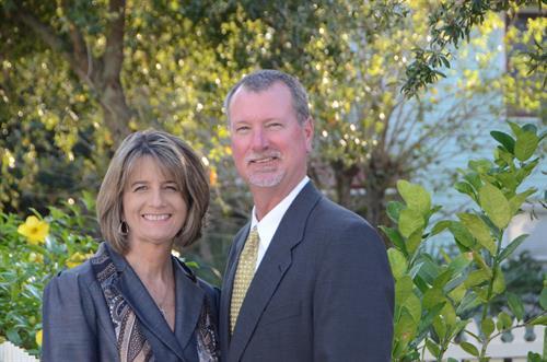 Caroline and Bruce Hallett