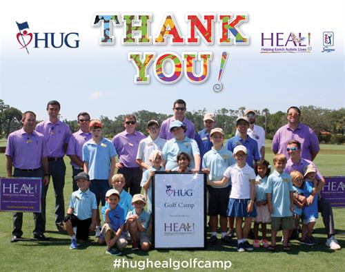 Help Us Golf/HEAL Golf Camp at TPC Sawgrass