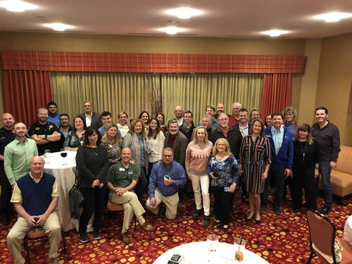 January 2019 - Our monthly Village B2B networking event held at Renaissane Resort WGV.