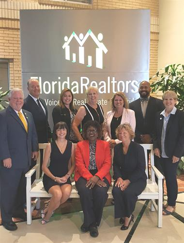 Leadership at Florida Realtors Building