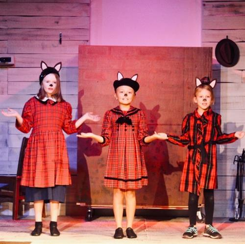 This cute scene is from 101 Dalmations by the Limelight Education Department.