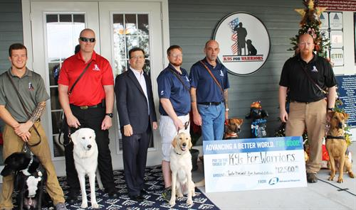 Giving back to the Community- K9s for Warriors