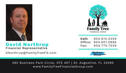 David Northrup Business Card