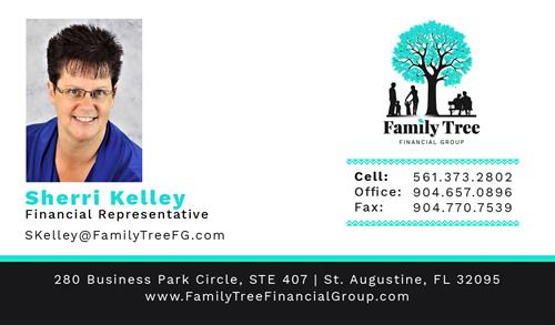 Sherri Kelley Business Card