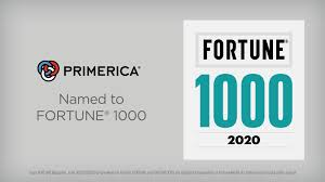 Primerica has been named in the top Fortune 1000 businesses for 2020