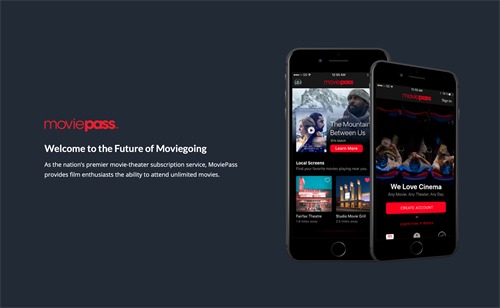 Disrupting the movie industry - prototype app of what was to come.