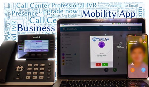 Unified Communications and use it anywhere you Are.