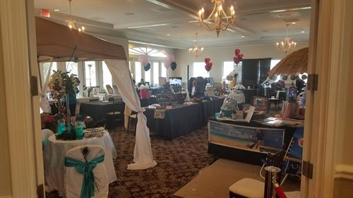 Trade shows, boutique bridal shows and conferences
