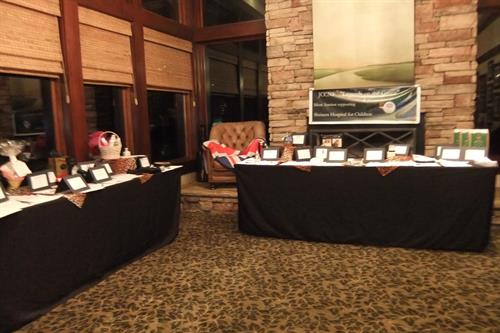 Fundraising events and silent auction management