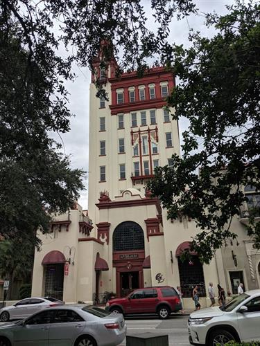 NTE Energy's headquarters are in the Treasury Building in Historic St. Augustine