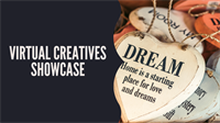 Monthly Virtual Creatives Showcase