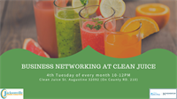Business Networking at Clean Juice