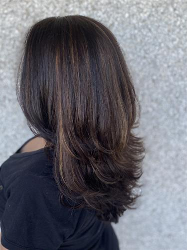 Long Layers & two dimensional color