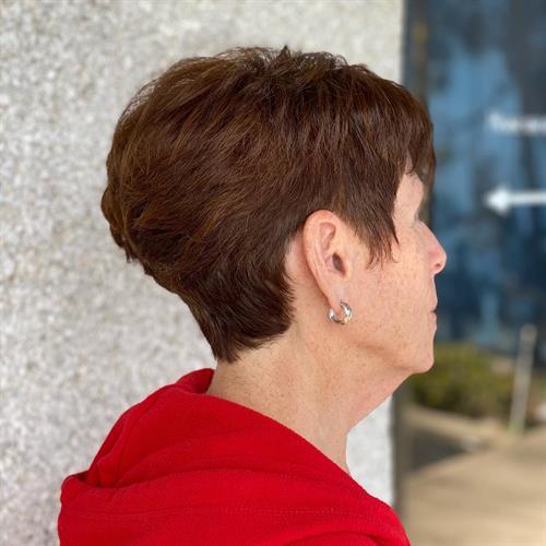 Short hair shaping