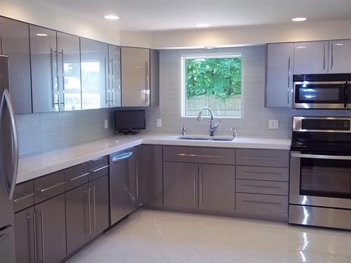 Kitchen Moved to Stylish and Sleek